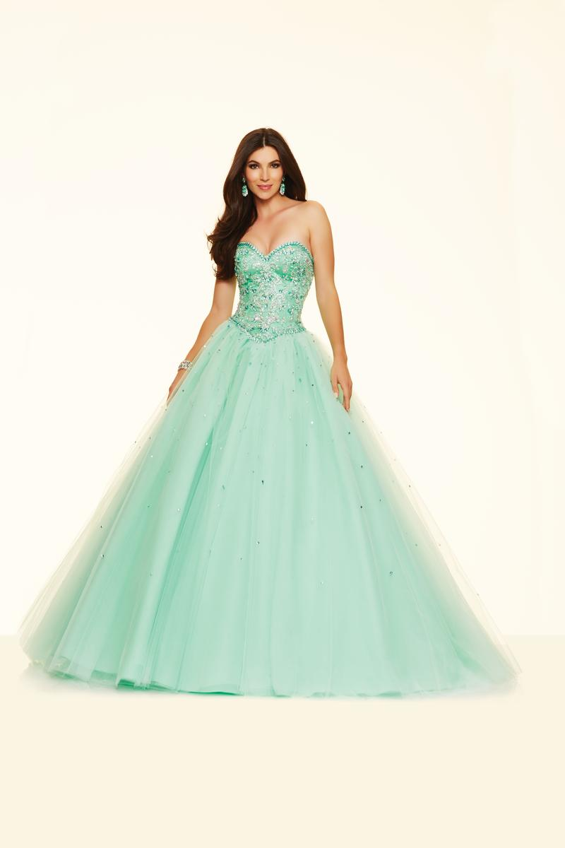 Mori Lee Paparazzi 98006 Tulle Ball Gown: French Novelty