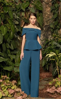 d18c74fba4b6 Alexander by Daymor 990B Off Shoulder MOB Pant Suit