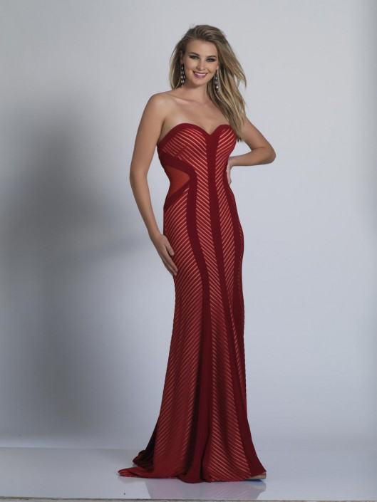 Dave And Johnny A5778 Slimming Prom Dress French Novelty