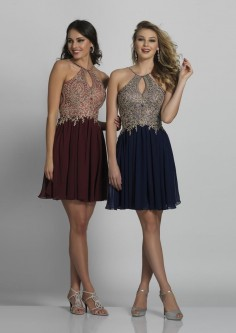 1cc3f5c00d Dave and Johnny A6226W Plus Size Keyhole Short Dress