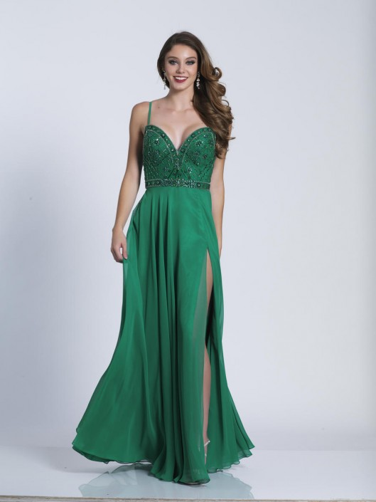 Dave and Johnny A6396 Sweetheart Prom Dress: French Novelty