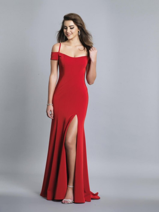 Dave and Johnny A6846W Off Shoulder Plus Size Prom Gown