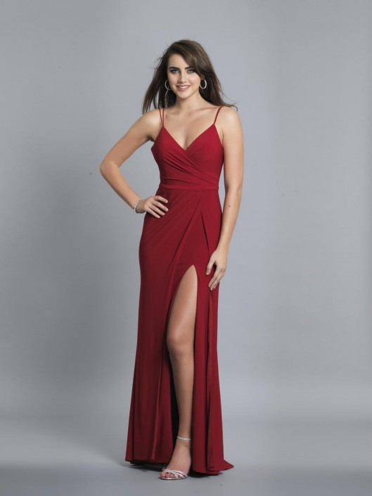 06682bb0c Dave and Johnny A7074 Draped Prom Gown: French Novelty