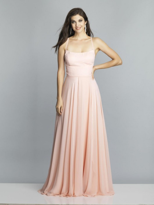 9e18b14d70 Dave and Johnny A7987 Spaghetti Strap Prom Gown  French Novelty