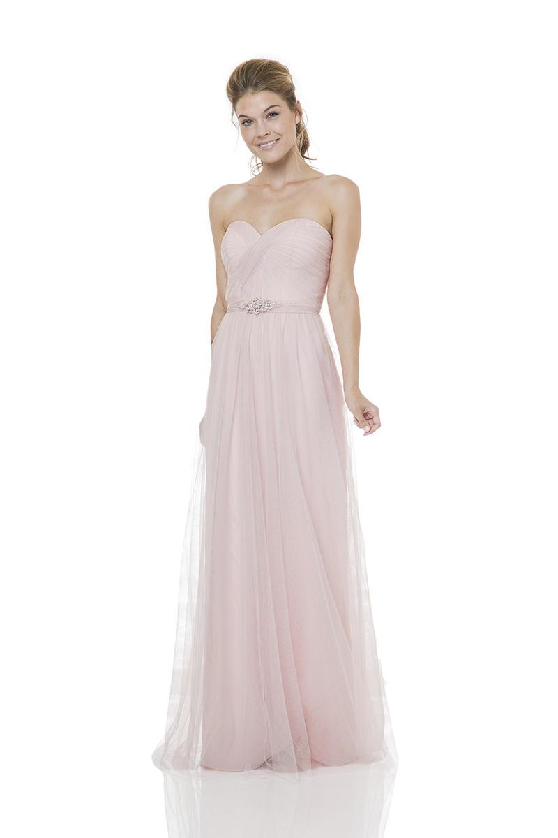 Bari jay bc 1500 shirred bella chiffon bridesmaid gown for Immediate resource wedding dresses