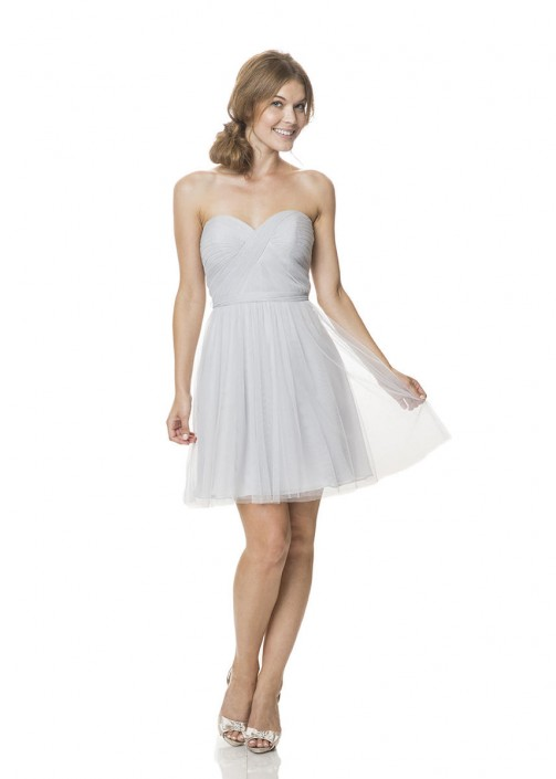 711267f41c814 Bari Jay BC-1500-S-M Short Maternity Bridesmaid Dress: French Novelty