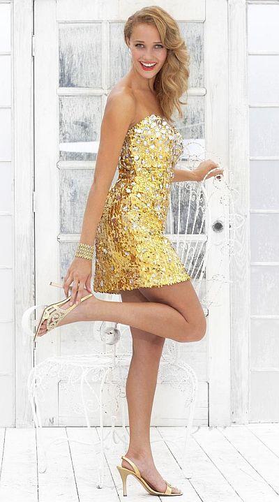 Shiny Dresses