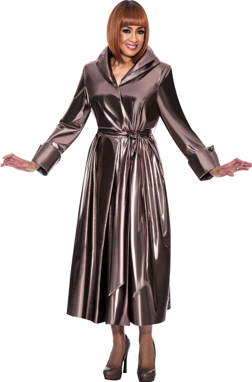 Dorinda Clark Cole Dcc121 Wrap Church Dress French Novelty