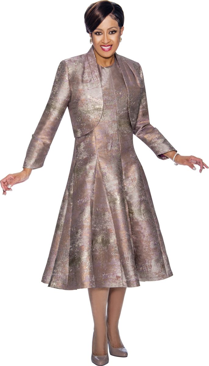 Dorinda Clark Cole Dcc1432 Fit And Flare Church Dress With