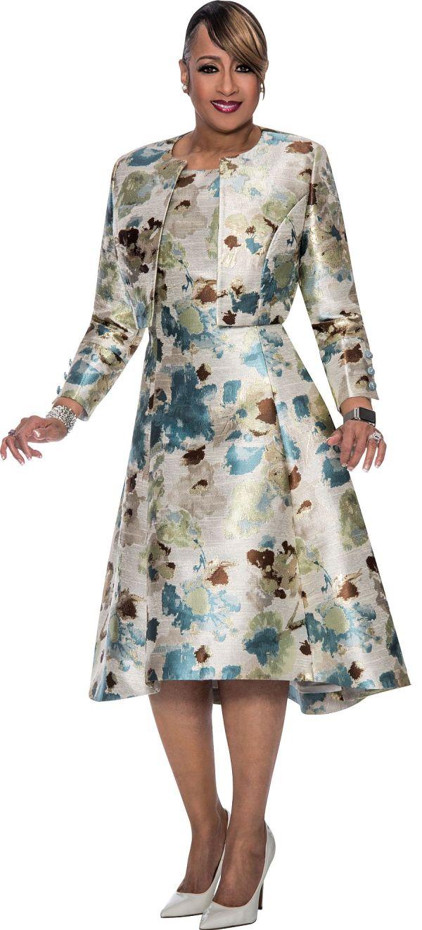 Dorinda Clark Cole Dcc302 Jacket Dress For Church French