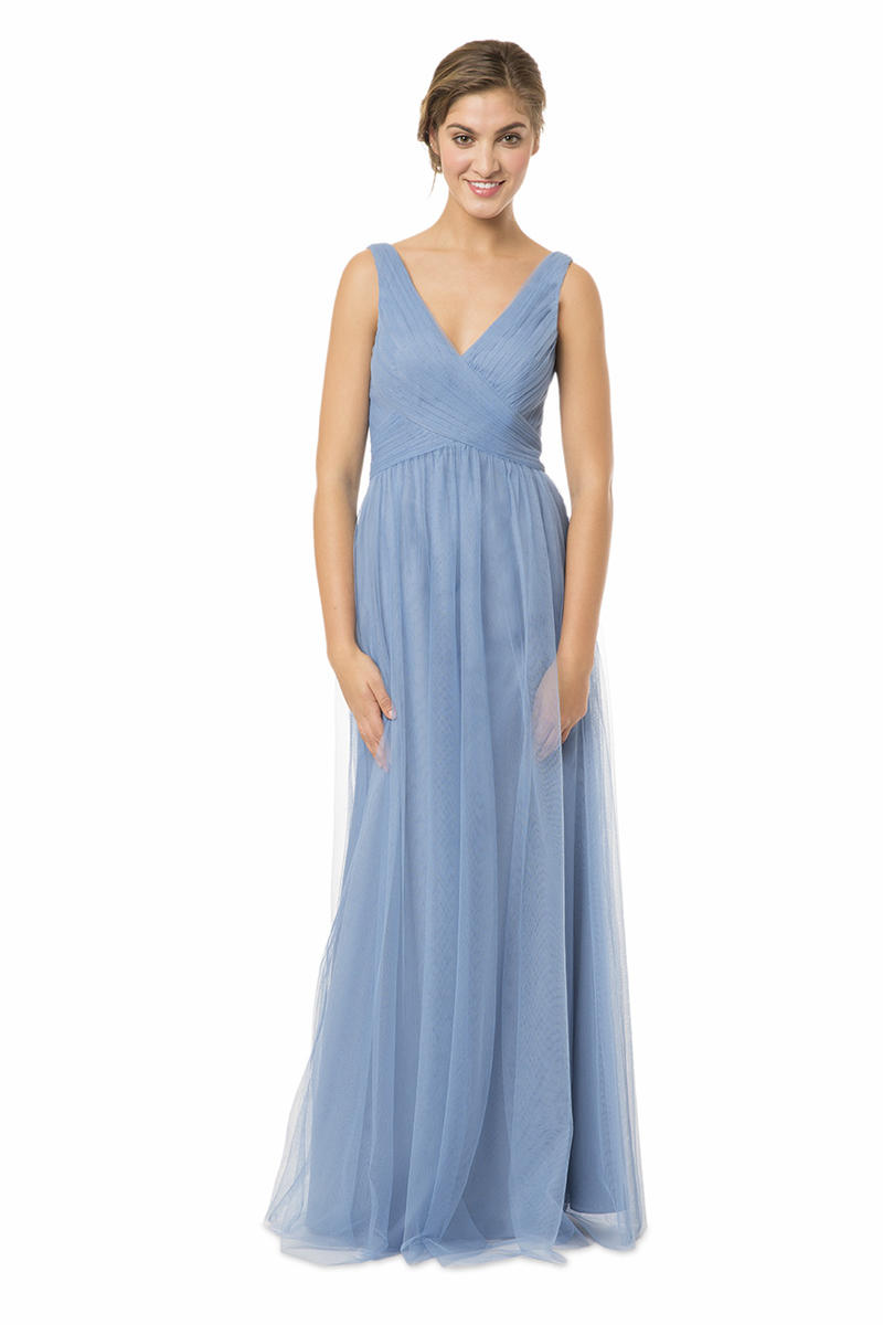 Bari jay en 1570 english net bridesmaid gown french novelty for Immediate resource wedding dresses