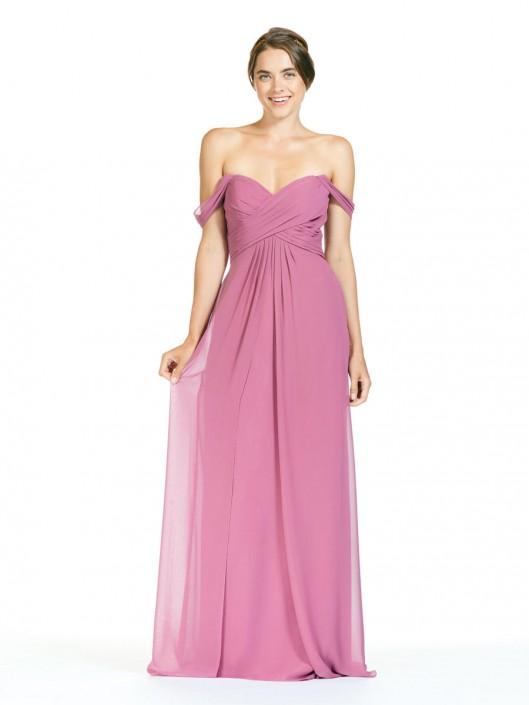 1fb4b0dfd44 Bari Jay EN-1803 Off Shoulder Long Bridesmaid Dress
