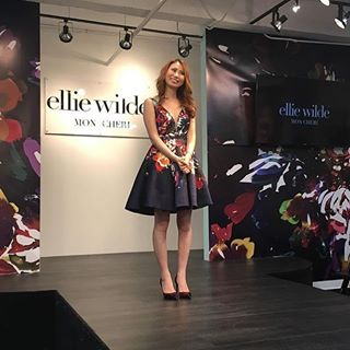 0a8622ebff7 Take a walk on the Wilde side for prom 2017 in an Ellie Wilde for Mon Cheri prom  dress. This young and new designer is taking the fashion world by storm ...