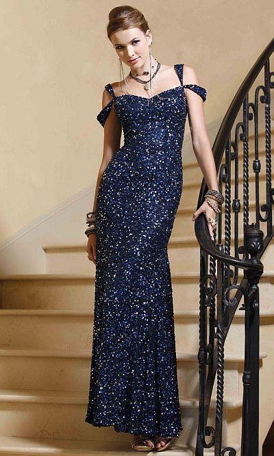 BG Haute Red Carpet Chic Sequin Prom Dress F01018: French Novelty
