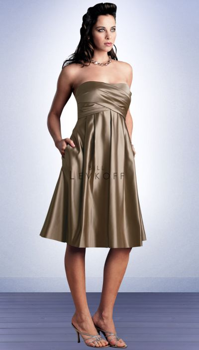 Bill Levkoff Bridesmaid Dresses Short