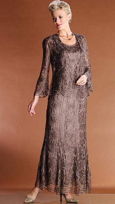 604a4877ba3 Soulmates 3 Piece Mother of the Bride Dress C1067  French Novelty