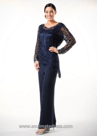 Soulmates 2pc Formal Pantsuit C805803 French Novelty