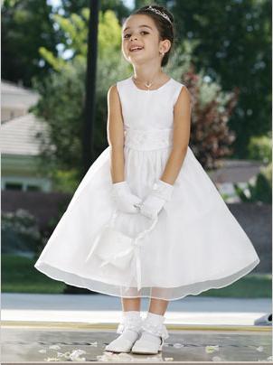 Tip Top Flower Girl Dress 6036: French Novelty