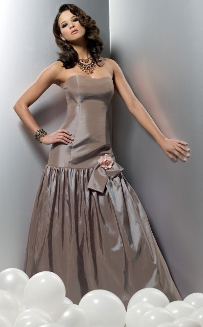 Bridesmaid Collections on Jordan Couture Collection Dropped Waist Bridesmaid Dress 1109 Image