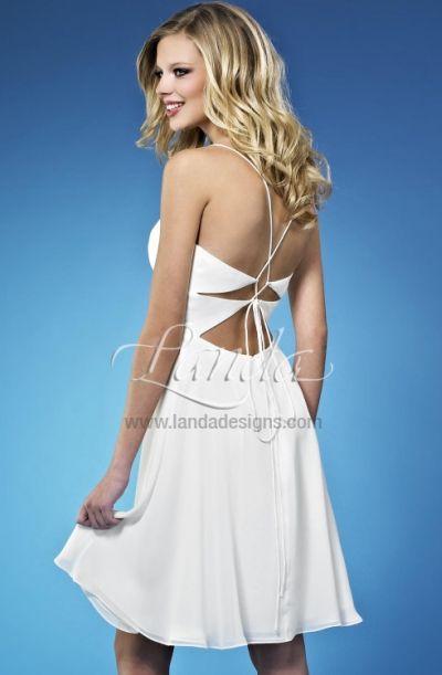 Short Beach Wedding Destination Bridal Dress DB205 by Landa: French ...