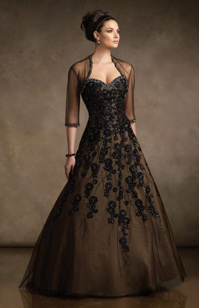 ba1f9539ccf Mother of the Bride Ball Gown R21044 by Rina di Montella  French Novelty