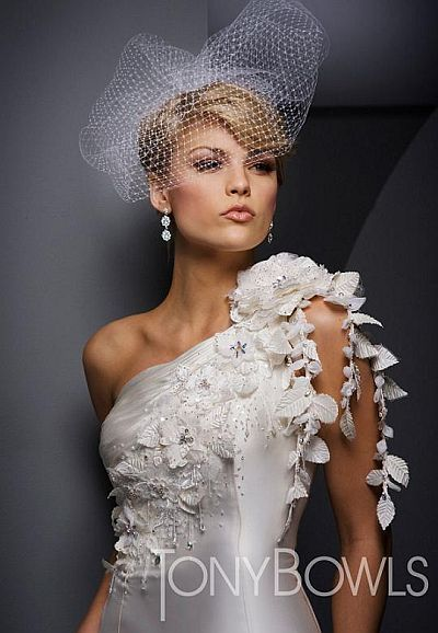 Tony bowls white wedding dresses