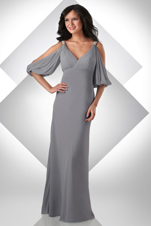 Cold Shoulder Gowns