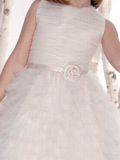 dcbfef6bc9f Joan Calabrese for Mon Cheri Tiered Ruffle Flower Girls Dress 211307 ...