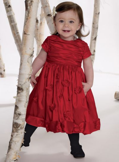 64a7d7441cb4 Joan Calabrese for Mon Cheri Infant and Toddler Girls Dress 211314B ...