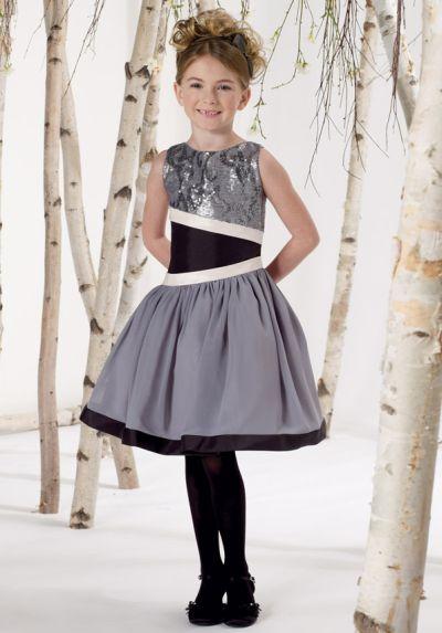 Joan Calabrese For Mon Cheri Little Girls Dress With