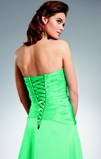 Wedding Dress Lace Up Kit : Jordan long satin bridesmaid dress with lace up back