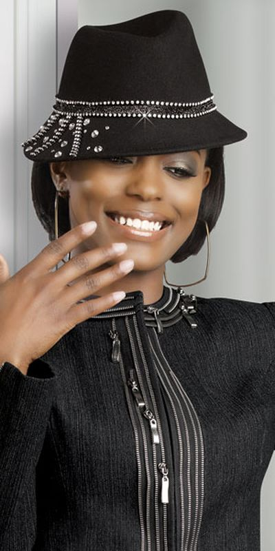 Womens Black Denim Jacket