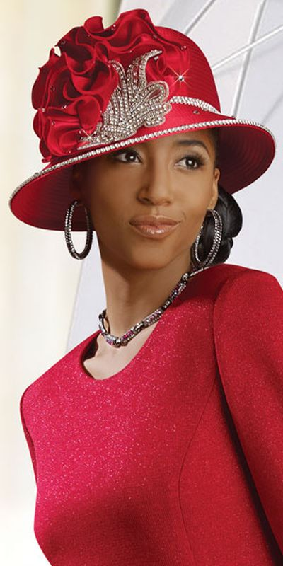 Donna Vinci Knits 2921 Womens Red Church Suit: French Novelty