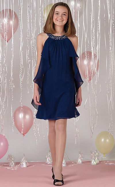 Joan Calabrese By Mon Cheri Girls Special Occasion Dress