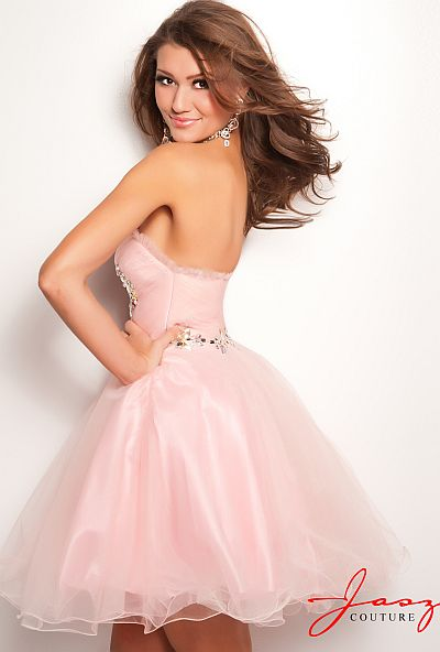 c6b032f3098 Jasz Cute and Sexy Tulle Babydoll Homecoming Dress 4716  French Novelty