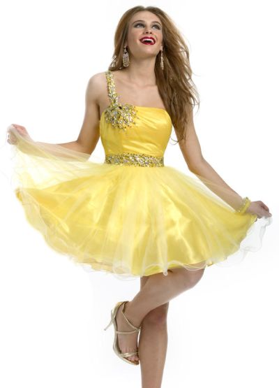 6b58f3fdf7 Party Time 6939 Soft Tulle Ombre Short Homecoming Dress  French Novelty