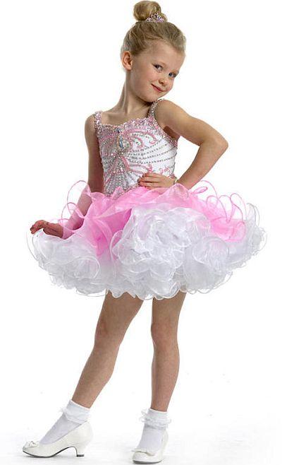 Perfect Angels 1463 Little Girls Organza Pageant Dress