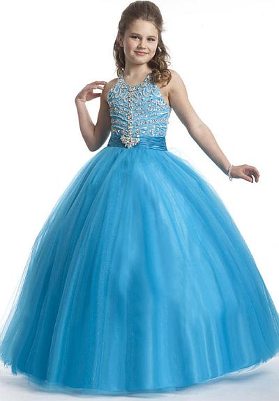Perfect Angels 1470 Girls Pageant Dress: French Novelty