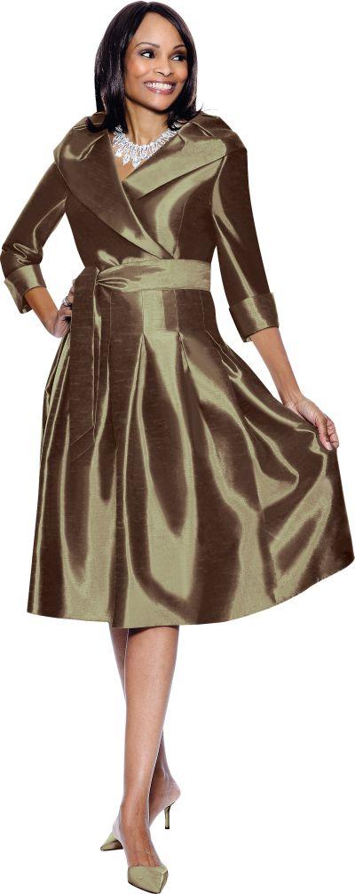 Terramina 7302 Womens Church Dress: French Novelty