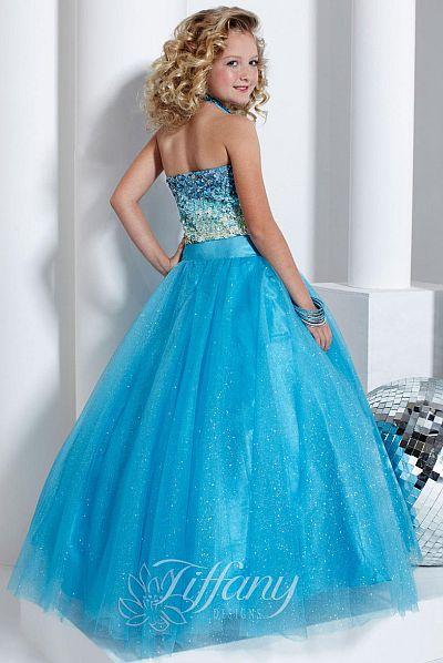 Tiffany Princess Girls Pageant Dress 13314: French Novelty