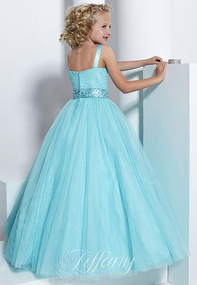 Tiffany Princess 13315 Girls Pageant Dress: French Novelty