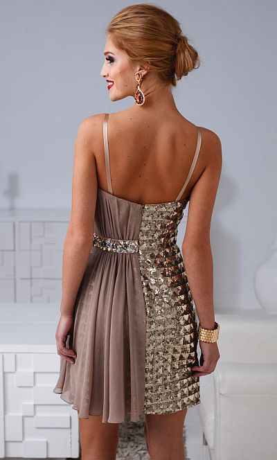 12d1c7e03d9 Terani Homecoming Fashion Forward Cocktail Dress H1207  French Novelty