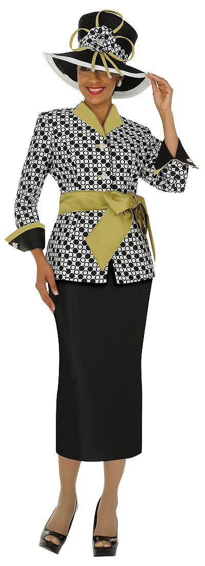 Nubiano Womens Polka Dot Suit N95052 French Novelty