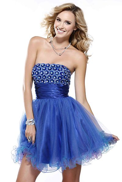 BG Haute Short and Sassy Tulle Prom Party Dress F28087: French Novelty
