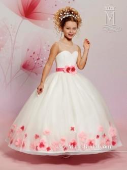 3987a925a01 Cupids by Marys Bridal F470 Flower Girls Ballgown