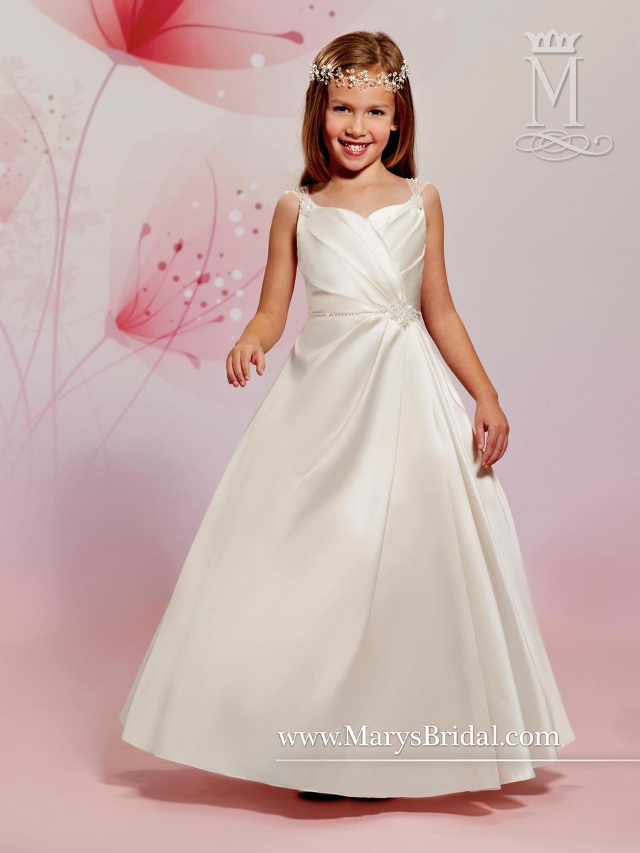 5a526cf8c8e Cupids by Marys Bridal F488 Flower Girls Satin Dress  French Novelty