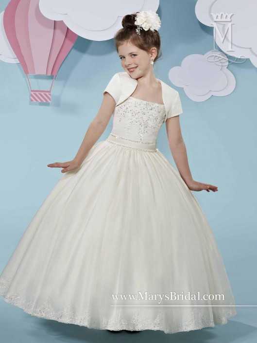f183851294 Cupids by Marys Bridal F513 Flower Girls Ball Gown  French Novelty