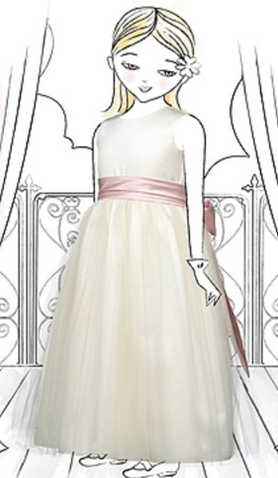 00ab269baf0e Dessy Flower Girls Dress FL4002: French Novelty