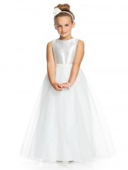37206f74302 Dessy FL4046 Flower Girls Flutter Sleeve Dress.  230.00 195.99. Dessy  FL4040 Tulle Flower Girl Dress