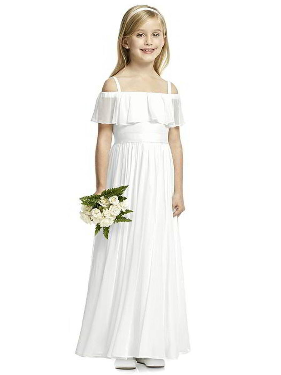 a15804847d3b Dessy FL4053 Off the Shoulder Flower Girls Dress: French Novelty